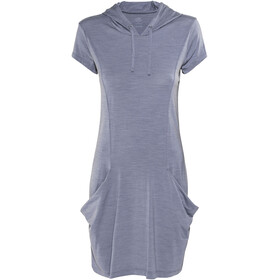 Icebreaker W's Yanni Hooded Dress Gumtree Heather